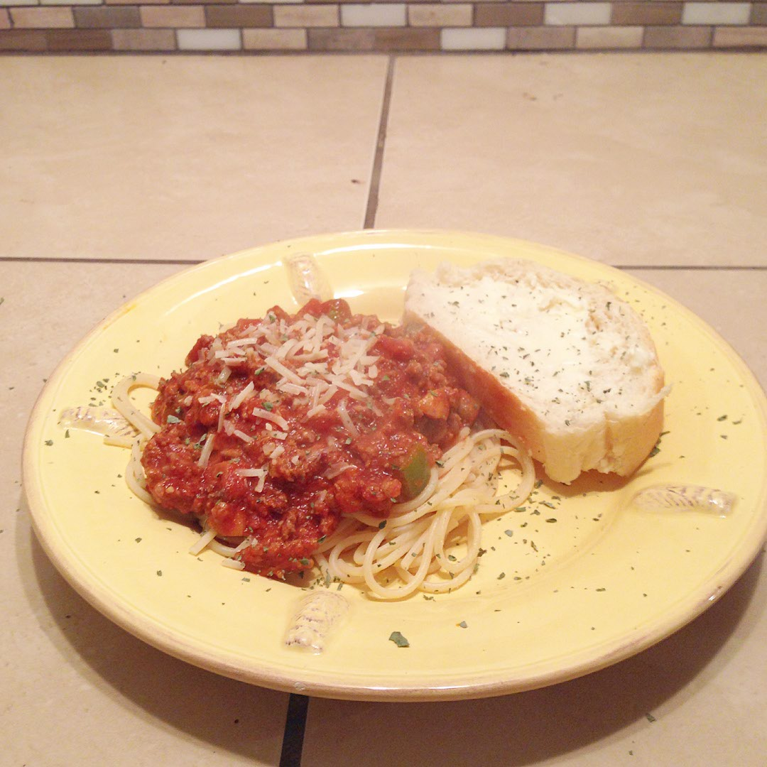 Mom's Spaghetti Recipe | Mama, Molly and Snuggy the Bear